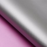 Weave Textured PU Leather, Shoe Leather, Plaid Decorative Leather