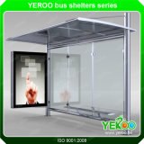 Q304 Stainless Steel Custom-Made Advertising Bus Stop Shelter Manufacture