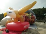 Yellow Inflatable Advertising Helium Flying Eagle Balloon for Sale