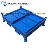 Foldable Storage Rigid Steel Welded Pallet Cage