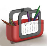 OEM Logo Creative Plastic Desk Calendar for Promotional Gift