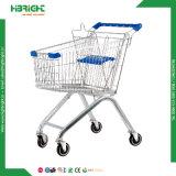Powder Coating Supermarket Shopping Cart for Stores