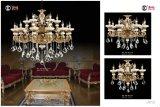 Jade Anti-Brass Luxury Crystal Chandelier Light