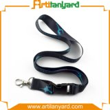 Customer Logo Heat Transfer Printing Lanyard