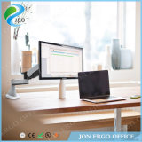 Jeo Double Joint Vesa75/100 Tilt up with Adjustment Height Adjustable Ys-Ga12fu Monitor Stand