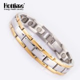 Wholesale Men's Chain Plated Gold Color with Magnetic Energy Stones