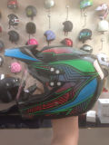 Black Motor Helmet Motocross Helmet
