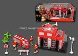 Die Cast Metal Car Play Set Toy-P/B Firefighting Play Set Three