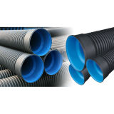 High Density Polyethylene Double Wall Corrugated Pipe
