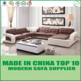 Modern Design Living Room Leather Corner Sofa