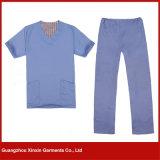 Classical Hospital Uniform Meidical Scrubs Medical Uniform Workwear for Hospital (H6)