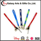 Phone Accessories Polyester Sublimation Printed Mobile Phone Strap