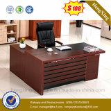 New Design Executive Melamine L Shape Manager Office Table (HX-6M058)