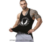 Cool Mens Cotton Tank Tops with Custom Logo