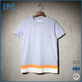 High Quality Contrast Color T-Shirt with Pocket