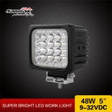 "Car Light 48W 4"" Square Heavy Duty LED Work Lamp"
