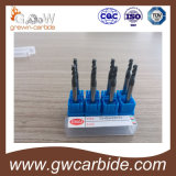 Ball Nose Corner Radius Carbide Endmills 2 Flutes HRC60