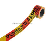 Red and Yellow Caution Tape for Precaution