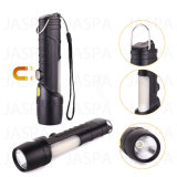 High Quality Multi-Functional Aluminum & Plastic Flashlight