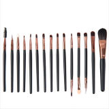 15PCS Powder Private Label Natural Custom Logo Makeup Brushes