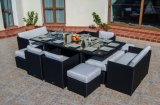 Super Deluxe Rattan Cube Dining Set