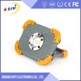 800lm Lumen 10W Mergency Rechargeable LED Work Light with Logo