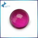 Round Cabocho 5# Synthetic Ruby