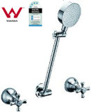 Australian Wels Wall Mounted Classical Chrome Round Shower Set (G203)