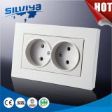 Non-Grounding 1 Gang Electric Wall Socket (European standard)