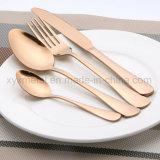 Rose Gold Plated Stainless Steel Dinnerware Tableware Flatware Cutlery