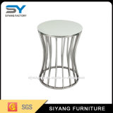 Modern Stainless Steel Side Coffee Table (Ikea Side Table)