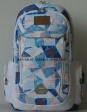 OEM Young Design Polyester Notebook Backpack Bag, Practical Full Printing School Backpack Bag/ Outdoor Travel Laptop Backpack
