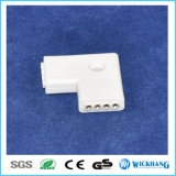 LED Strip Connector 3528/5050 4-Pin RGB Straight Corner L Adapter