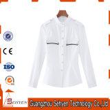 Wholesale Cotton Plain Long Sleeve Women Formal Shirt Designs