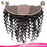4X4 Silk Base Virgin 13X4 Human Hair Lace Frontal Deep Curly Front Lace Closure Piece