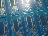 Electronics PCB Copper Board 1 Oz 2 Layer with Blue Soldermask