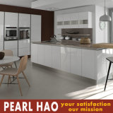 High Gloss White Lacquer Wood Kitchen Cabinet Furniture