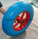 350-8 Solid Rubber PU Foam Wheel