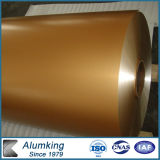 Golden Color Coated Aluminum Coil for Buildings Materials