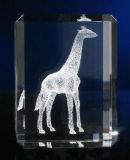 Newest Design 3D Deer Crystal Animal Figurine