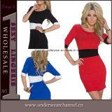 High Quality Women Fashion Elegant Bodycon Mini Casual Dress (N180)