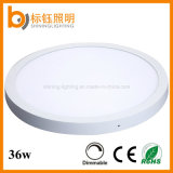 36W Dimmable Interior Lighting SMD Round LED Panel Ceiling Light