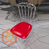 Party Transparent Popular China Resin Clear Napoleon Chair for Wedding