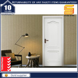 Wood Interior Exterior Solid Wooden Panel PVC Glass Door