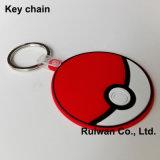 Promotional Silicone Key Chain, Custom Soft PVC Keychain
