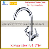 Sanitary Ware Double Handle Kitchen Faucet