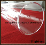 Big Size Clear Fused Polishing Silica Quartz Glass Pipeline