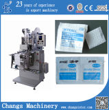 Zjb Series Medical Alcohol Antisepticl Prep Pad Swabs Packing Machine at Home