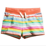 Customized Girl′s Casual Summer Printed Leisure Beach Shorts