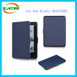 Ultra-Thin Leather Smart Case for New Kindle 2016 (558)